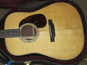 Martin Custom Wildwood Dreadnought, Adirondack TORREFIED Spruce (Aged to 80 years!!)/Rare Madagascar Rosewood!
