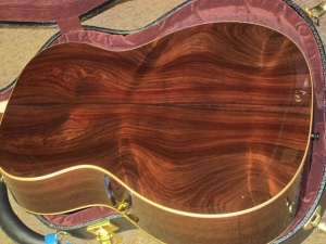 Martin Custom Wildwood OM, Adirondack Spruce/Wild-Grain East Indian Rosewood!