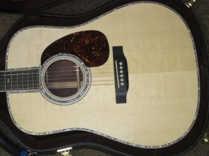 Martin CUSTOM D42, TOTAL HOT HIDE GLUE, Italian Alpine Spruce/Madagascar Rosewood!