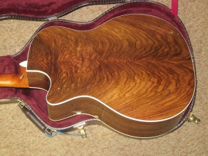 Martin Custom Wildwood Grand Performance Model, Cutaway, SHORT SCALE, Fishman Matrix Infinity Pickup, Authentic-Style Adirondack Top/Wild-Grained East Indian Rosewood!
