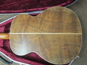 Avalon Custom L335, Master Grade Redwood/Figured Walnut!