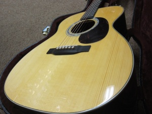 "Martin Custom OM-28, 1/2"" Deeper Body, Adirondack Spruce/East Indian Rosewood!"