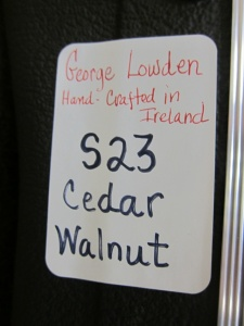 Lowden S 23, Bastogne Walnut/Cedar!