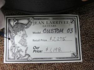 Larrivee Custom LS-03, Quilted Mahogany/Cedar!