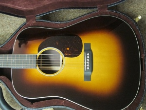 Martin Custom D-28, 1935 SUNBURST, Adirondack Spruce/East Indian Rosewood!