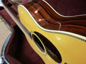 Martin Custom OM-28, Adirondack Top/Rare Guatemalan Rosewood,TOTAL HOT HIDE GLUE CONSTRUCTION!