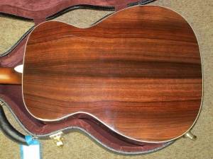 Martin Custom M/0000-28, AMBER BURST TOP, Adirondack Spruce/East Indian Rosewood!