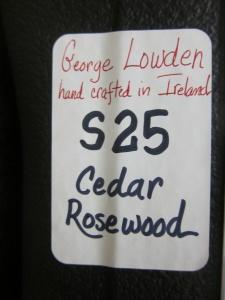 Lowden S-25, East Indian Rosewood/Cedar!