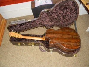 Taylor GSCE 12-String, Secret Grafted Walnut Top, Set #28-a