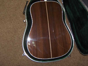 Martin D-45, East Indian Rosewood, Sitka Spruce, Abalone Inlay-c