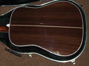 Martin D-45, East Indian Rosewood, Sitka Spruce, Abalone Inlay-d