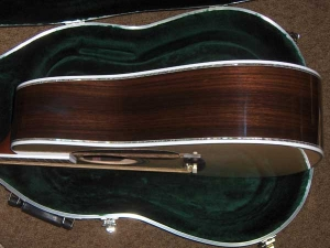Martin D-45, East Indian Rosewood, Sitka Spruce, Abalone Inlay-f