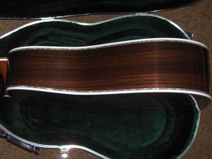 Martin D-45, East Indian Rosewood, Sitka Spruce, Abalone Inlay-j