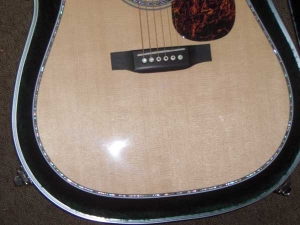 Martin D-45, East Indian Rosewood, Sitka Spruce, Abalone Inlay-n