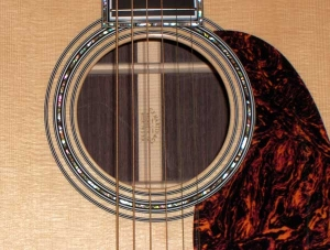Martin D-45, East Indian Rosewood, Sitka Spruce, Abalone Inlay-o
