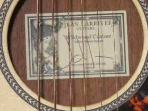 Larrivee Custom P03, Italian Alpine Spruce/Genuine South American Mahogany