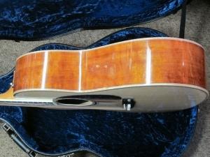 Larrivee Custom L05, Italian Alpine Spruce, Quilted Mahogany