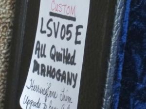 Larrivee Custom LSV-05E, ALL QUILTED MAHOGANY!