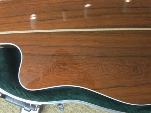 Martin Custom DC 40 Series, Madagascar Rosewood/Premium Sitka Spruce, Fishman Ellipse Matrix Blender pickup