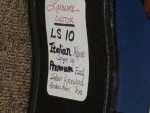 Larrivee Custom LS-10, Italian Alpine Spruce/East Indian Rosewood