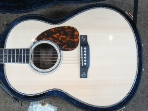 Larrivee Custom LS-10, Italian Alpine Spruce/East Indian Rosewood