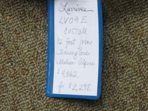 Larrivee Custom LV-09E, TWELVE-FRET JOIN, Italian Alpine Spruce/East Indian Rosewood