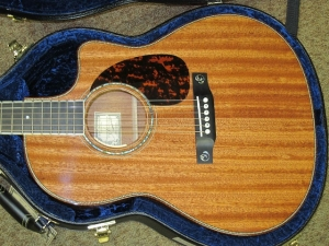Larrivee Custom LV 05 E, ALL Brazilian Mahogany!