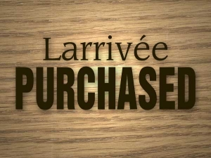 View the album Purchased Larrivées