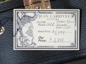 Larrivee Custom LV-10E, Ziricote/Italian Alpine Spruce!