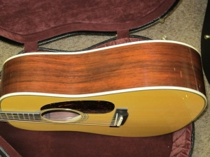 Martin Custom HD28V,  Madagascar Rosewood, Adirondack, Low Profile Neck!
