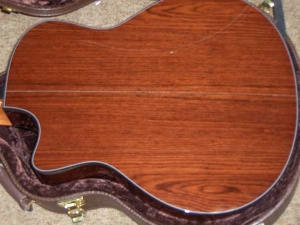 Taylor Custom GSCE 12-String, Amazon Rosewood/Engelmann Spruce-4