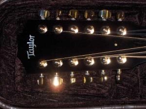 Taylor Custom GSCE 12-String, Secret Unknown Rosewood #7, Englemann Spruce-8