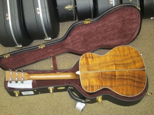 Martin Custom OM-28H, Deep Body, Adirondack Spruce/Figured KOA!