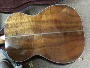 Martin Custom, 00-28V, Deep Body, Figured Koa/Adirondack Spruce!