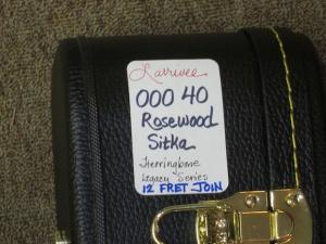 Larrivee Legacy Series 000-40, 12-FRET-JOIN, Rosewood/Sitka Spruce!