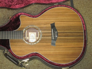 Taylor Custom GACE  Sinker Redwood Top/ Premium Rosewood back and sides!
