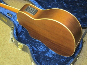 Larrivee Custom LV03E- ALL Peruvian Walnut