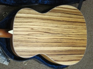 Larrivee Custom OM-03 Cedar Top/ Zebrawood back and sides !