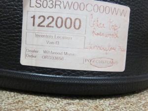 Larrivee Custom LS-03 Cedar top/ East Indian Rosewood back and sides!