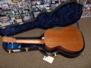 Larrivee P-09, Custom Parlour guitar, Lacewood!-11