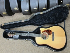 Legend DVE Premium Englemann Spruce Top /High Quality Koa Reserve back and sides