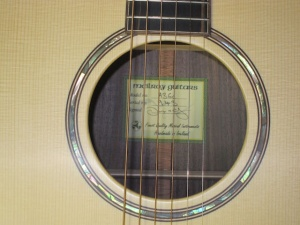 McILroy- A36c Italian Spruce Top/ East Indian Rosewood Back and Sides