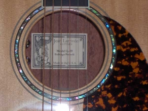 Larrivee L-09E Special Edition, Bubinga Pomelli and Red Sitka Spruce!-2