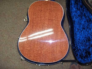 Larrivee L-09E Special Edition, Bubinga Pomelli and Red Sitka Spruce!-9